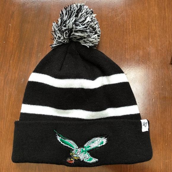 Forty Seven Other - NWOT Retro Philadelphia Eagles Ski Hats 1459f91c1f32